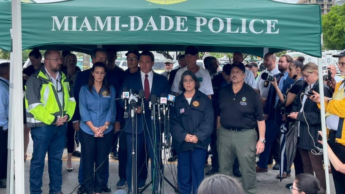 """""""Los bomberos se han puesto en riego una vez más para salvar vidas, la ciudad de Miami tiene un gran equipo de trabajo""""."""