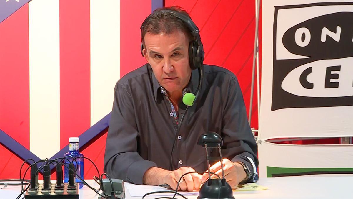 José Ramón de la Morena en su último 'Transistor'