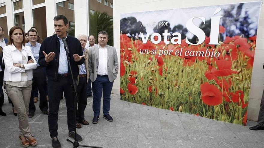 """Sánchez, con """"bastantes ganas e ilusión"""" para ser la primera fuerza en España"""
