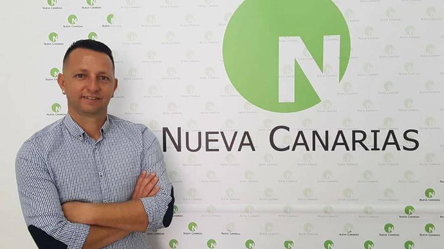 Óliver González, candidato de Nueva Canarias al Senado por la isla de Fuerteventura.