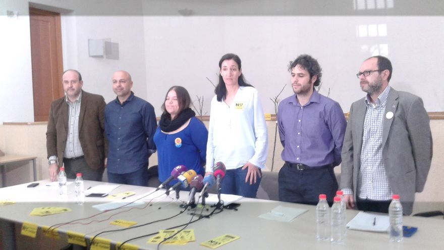 Firmantes del manifiesto contra el ATC en Villar de Cañas (Cuenca)