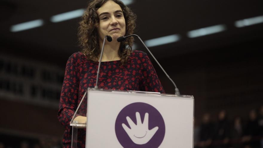 Acto Podemos Barcelona, Gemma Ubasart