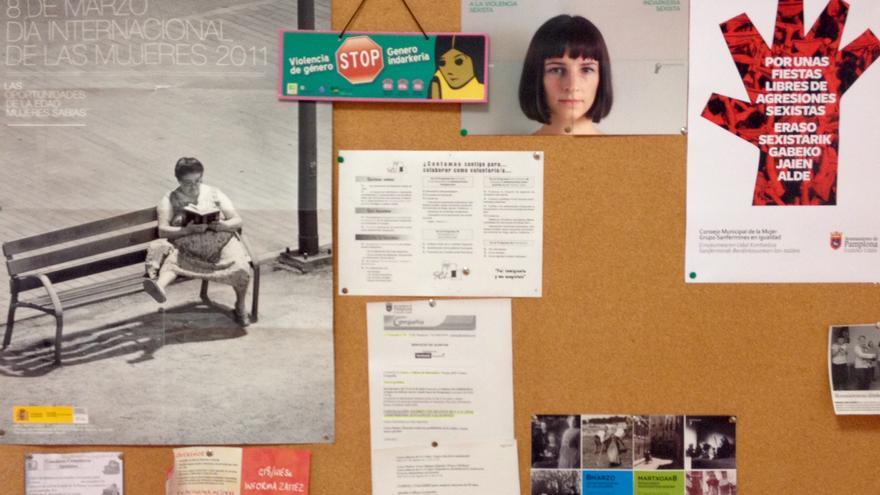 Varias campañas y mensajes de concienciación contra la violencia de género.