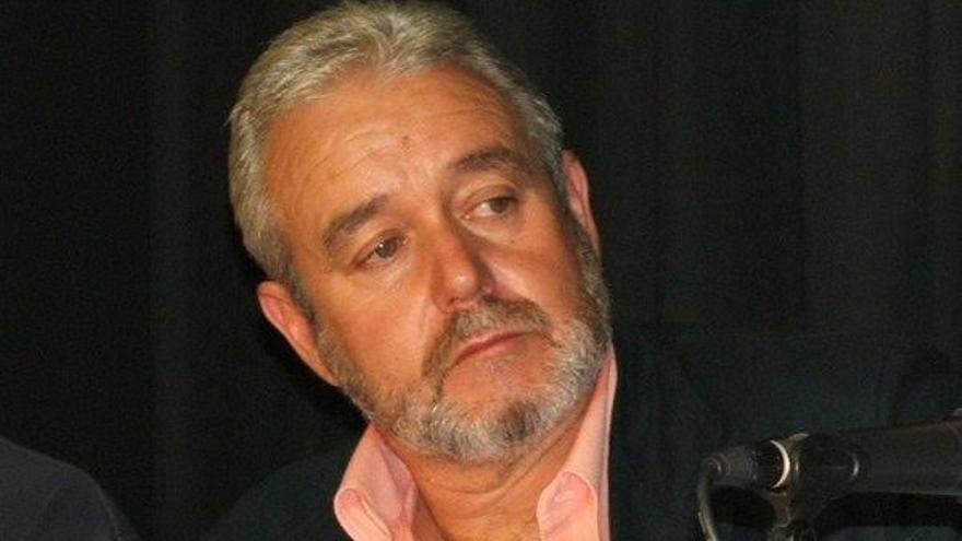 Argelio Hernández Ortega, portavoz de Nueva Canarias (NC) en el Ayuntamiento de Garafía.