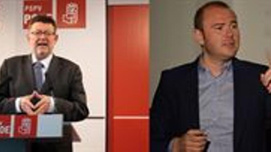 Toni Gaspar y Ximo Puig se convierten en candidatos a las primarias del PSPV tras lograr los avales necesarios