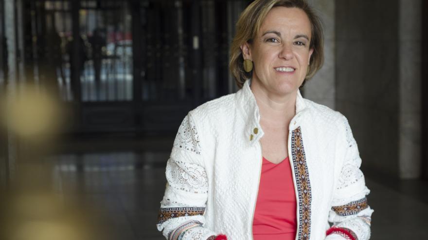 Purificación Causapié, portavoz del Grupo Socialista en el Ayuntamiento de Madrid