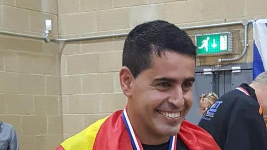 Leonardo González, deportista natural de Santa Cruz de La Palma, subcampeón de Estados Unidos de 'pickleball'.
