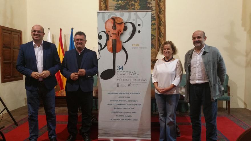 Presentación del Festival de Música de Canarias en La Palma.
