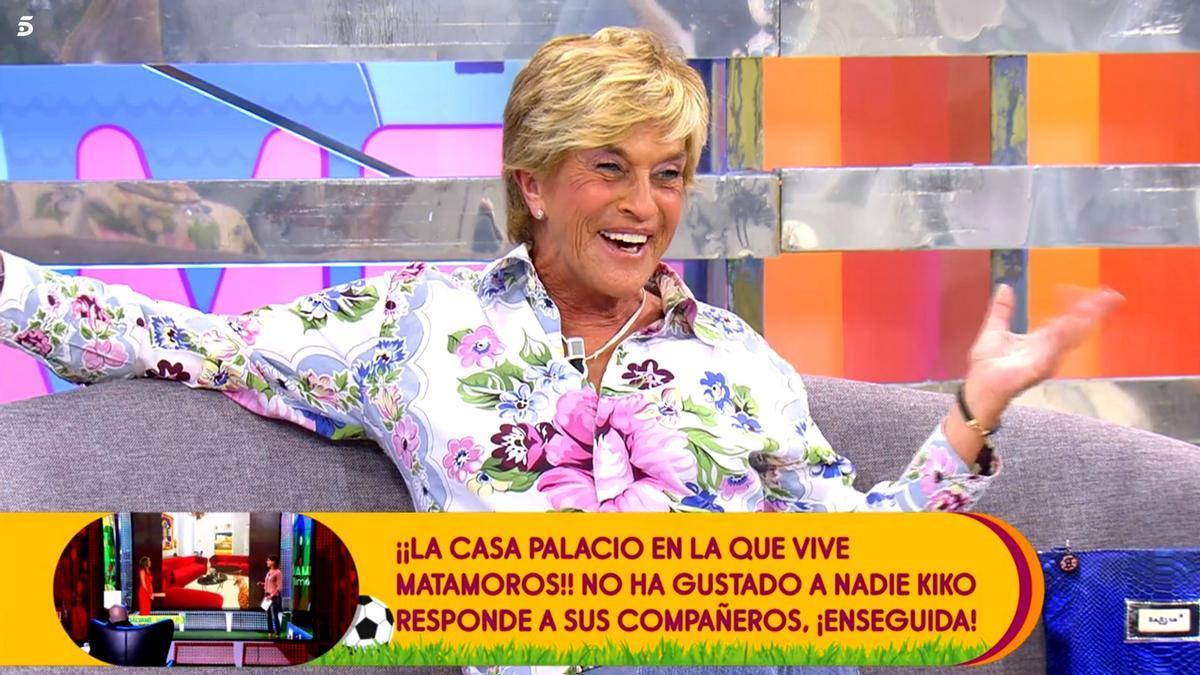 Chelo García Cortés al postularse para 'GH VIP' en 'Sálvame'