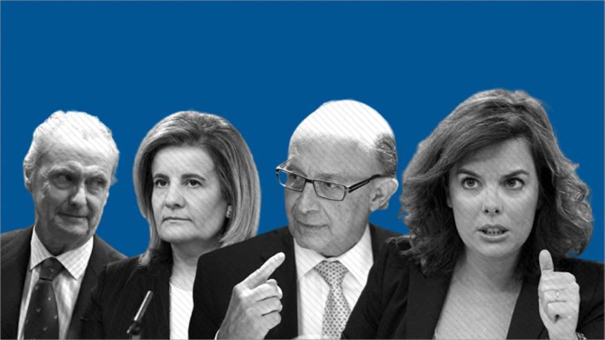 Bufetes de abogados, farmacéuticas y consultoras: el destino de los exaltos cargos de Rajoy