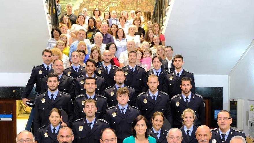 El Ayuntamiento incorpora a 19 nuevos policías locales en la plantilla