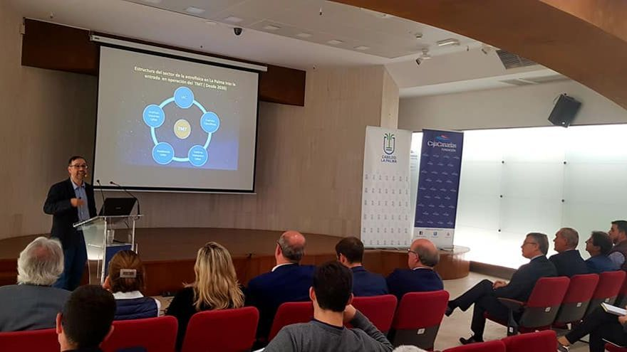 Acto de presentación pública del Informe sobre el Impacto Socio-Económico del Telescopio de Treinta Metros (TMT en sus siglas en inglés).