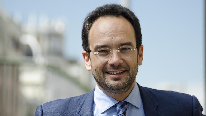 Antonio Hernando, portavoz del PSOE \ Foto: Alejandro Navarro Bustamante