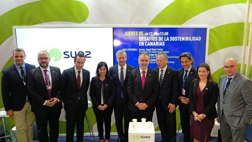 El presidente del Gobierno de Canarias, Ángel Víctor Torres, en la Cumbre del Clima que se celebra en Madrid.