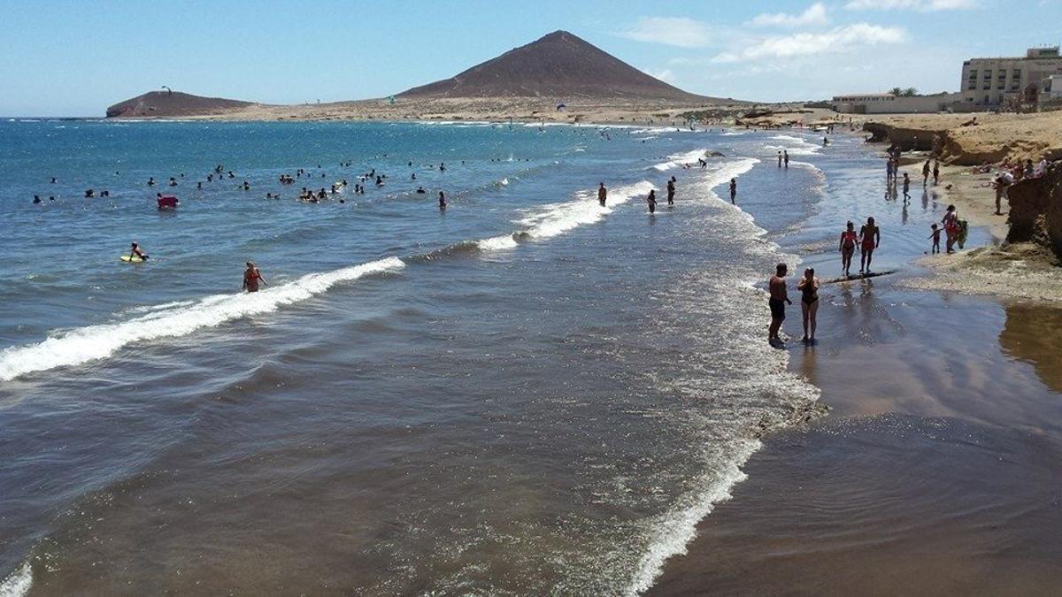Playa de El Médano, en el municipio tinerfeño de Granadilla