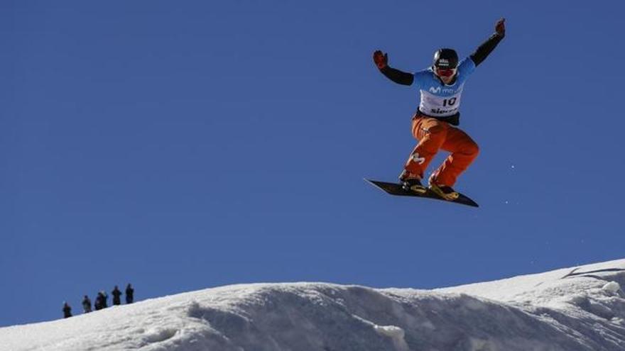 Lucas Eguibar, medalla de plata en Sierra Nevada 2017