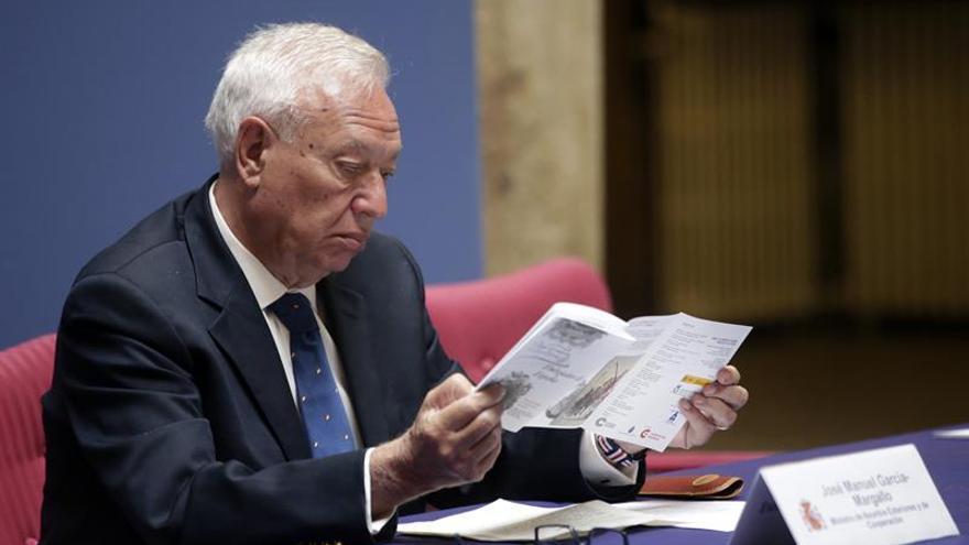 """Margallo retrata a Miguel de Cervantes como """"el mejor embajador de España"""""""