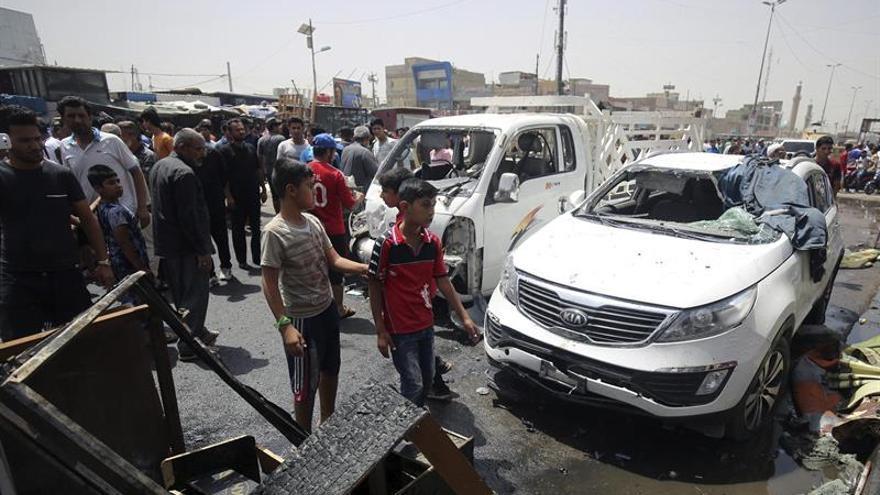 12 Muertos y 40 heridos en un nuevo atentado en un mercado de la zona chií de Bagdad
