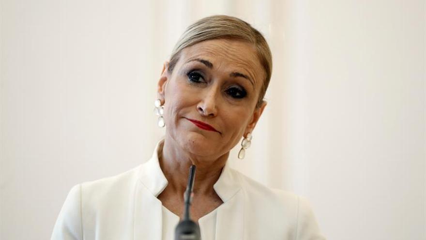 """Cristina Cifuentes citada hoy a declarar por dos delitos en el """"caso máster"""""""