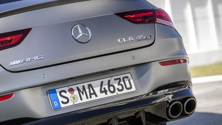 Los escapes de los Mercedes-AMG A 45 S y Mercedes-AMG CLA 45 no serán exclusivos para el mercado europeo.