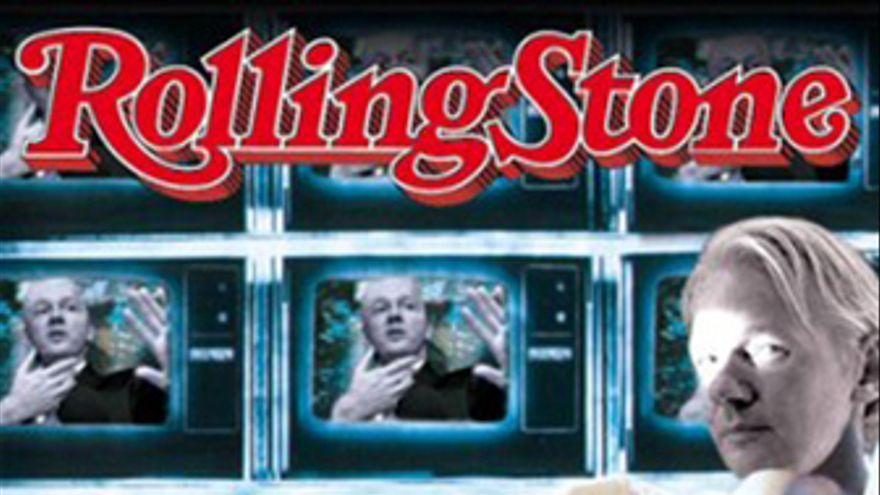 Portada de la edición italiana de Rolling Stone
