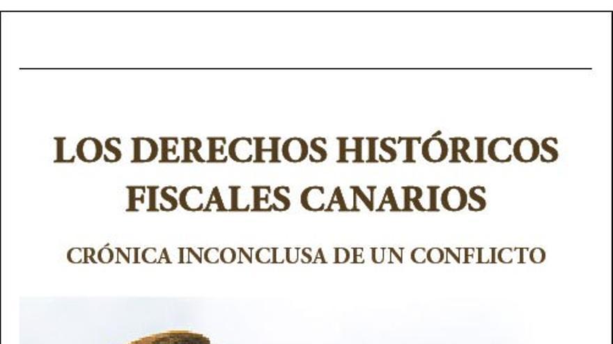 'Los derechos históricos fiscales canarios', libro de Normando Moreno Santana