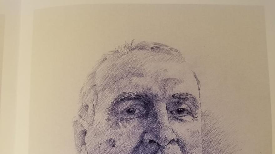 Retrato de Antonio Pérez Ortega realizado por Jaime H. Vera.