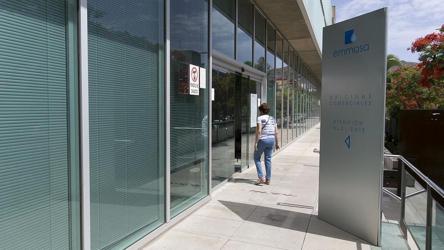 Instalaciones administrativas de la empresa mixta Emmasa, controlada por Sacyr