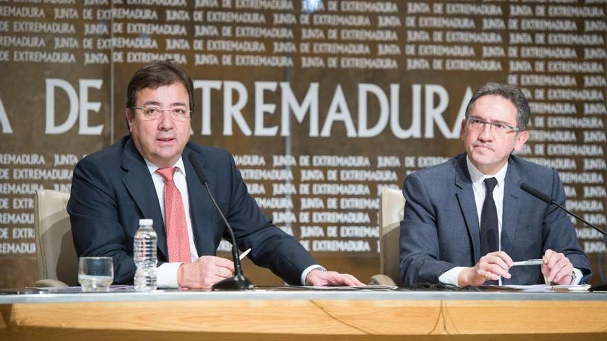 Fernández Vara la Caixa  Jaume Giró