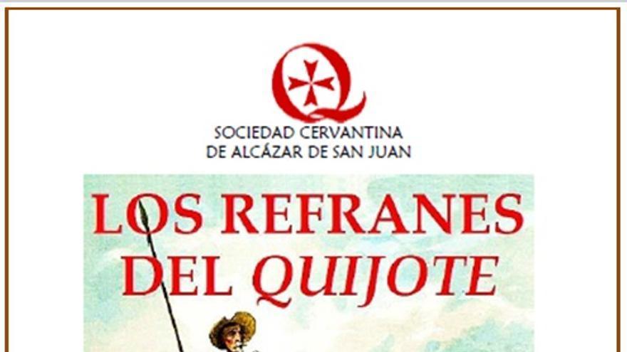 Portada del libro digital 'Los refranes del Quijote'