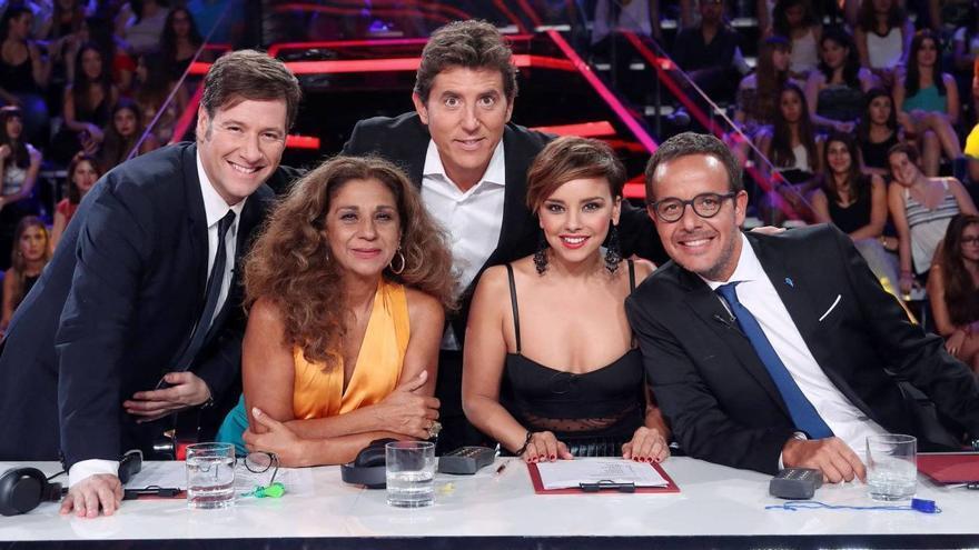 El jurado de 'Tu cara me suena 5' (Antena 3)