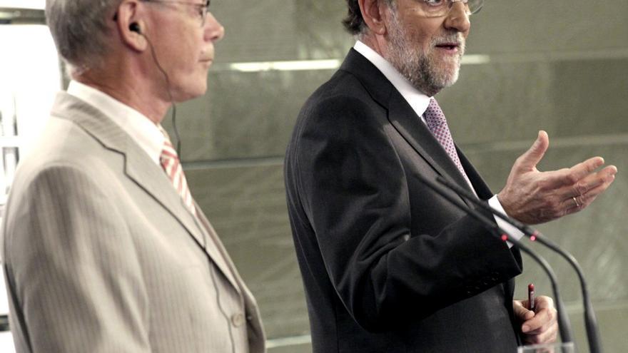 Rajoy cree que la salida de Grecia del euro sería un fracaso colectivo