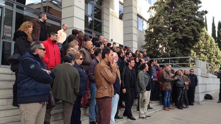 Concentración de sindicatos ante Administraciones Públicas / EUROPA PRESS
