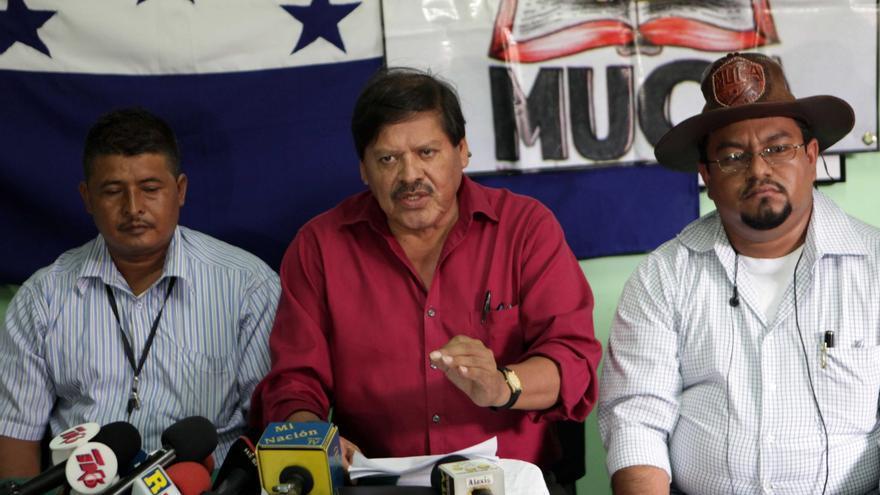 Campesinos hondureños exigen esclarecer el asesinato de defensores de Derechos Humanos