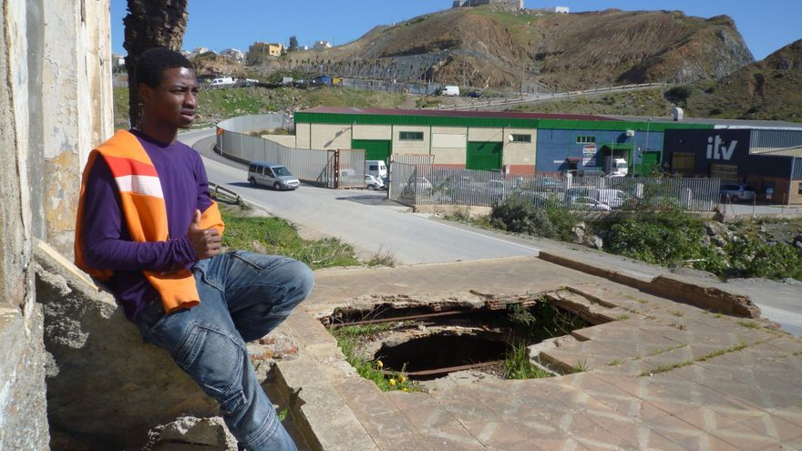 Mahmud Traoré, en Ceuta.