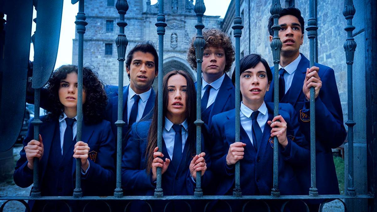Imagen de la temporada 2 de 'El Internado: Las Cumbres'