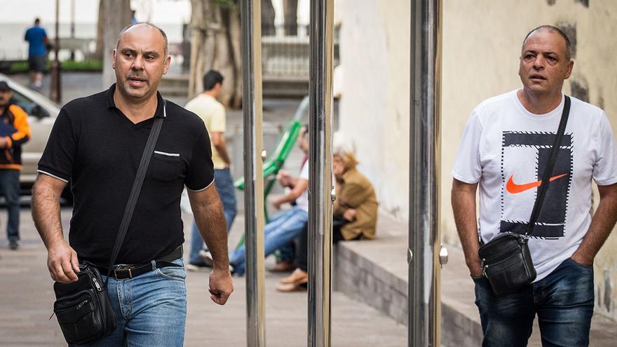 Santiago Casanova y Carmelo Reyes. Foto Andrés Gutiérrez