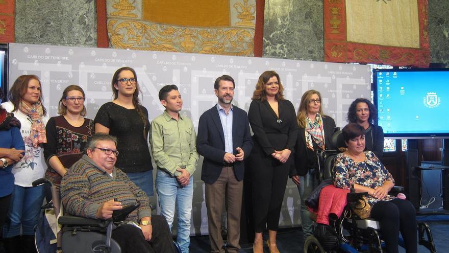 Presentación de la campaña, este martes, en el Cabildo de Tenerife