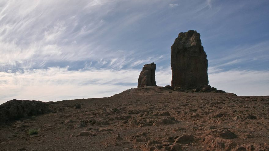 El Tablón, punto de acceso a la base del Roque Nublo.