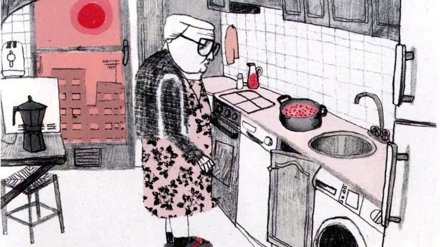 Una de las viñetas del cómic 'Estamos todas bien' de Ana Penyas, ganadora del Premio Nacional del Comic 2018.