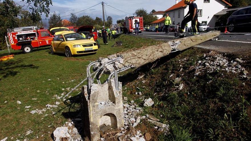 Cuatro fallecidos en las carreteras desde el inicio del Puente del Pilar