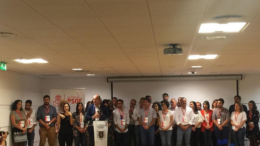 El 9º Congreso Insular del PSOE se celebró en el Museo Benahoarita de Los Llanos.