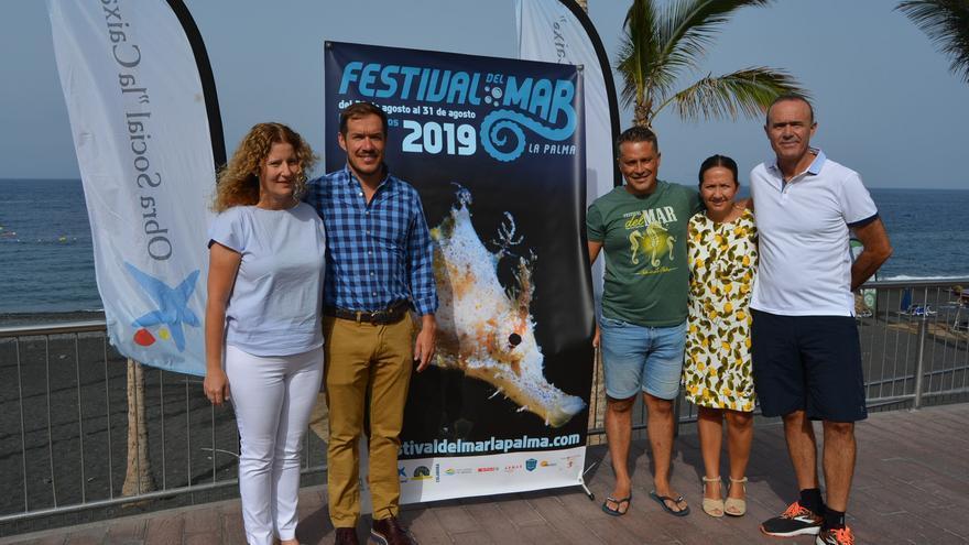 Presentación del Festival del Mar este sábado.