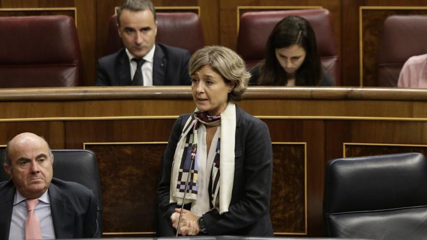 García Tejerina, durante la sesión de control
