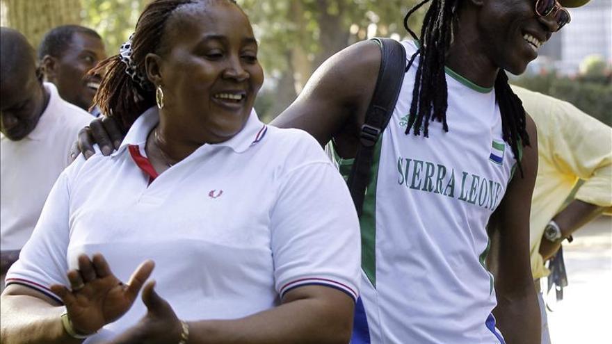 Inmigrantes de Sierra Leona piden en Madrid ayuda para frenar el ébola