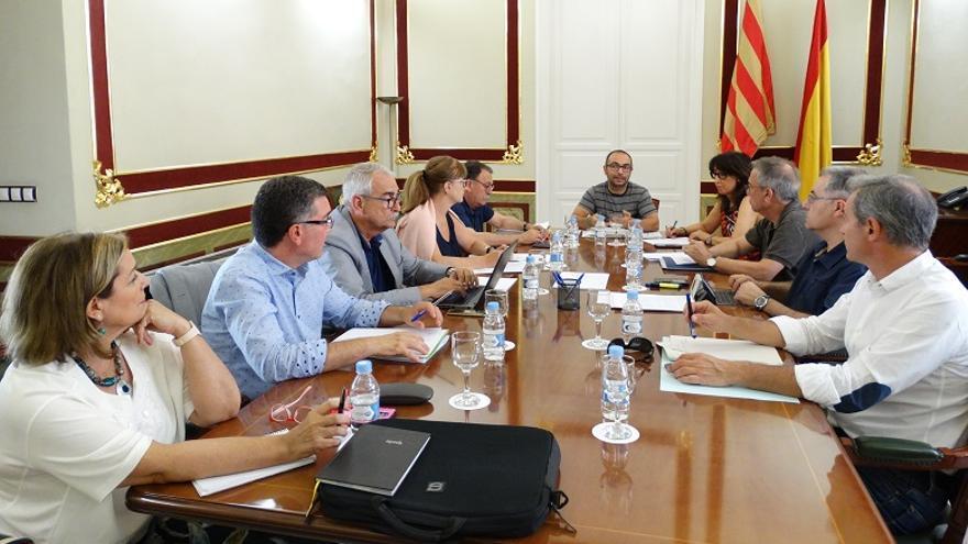 Imagen de la reunión para el desarrollo de la Ley Trans