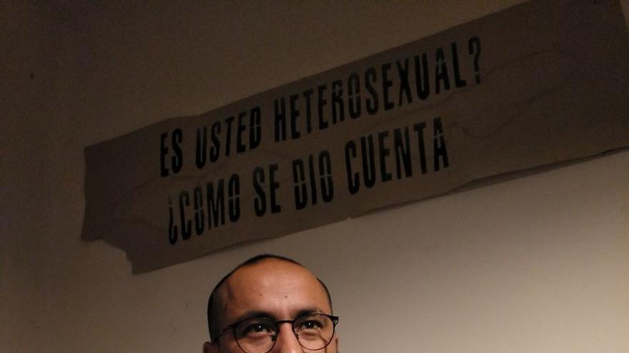 Francisco Godoy, integrante de Migrantes transgresorxs. Imagen cedida.