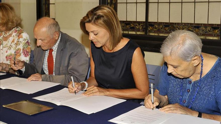 Cospedal espera que el Museo de Arte Realista pueda ser una realidad en 2015