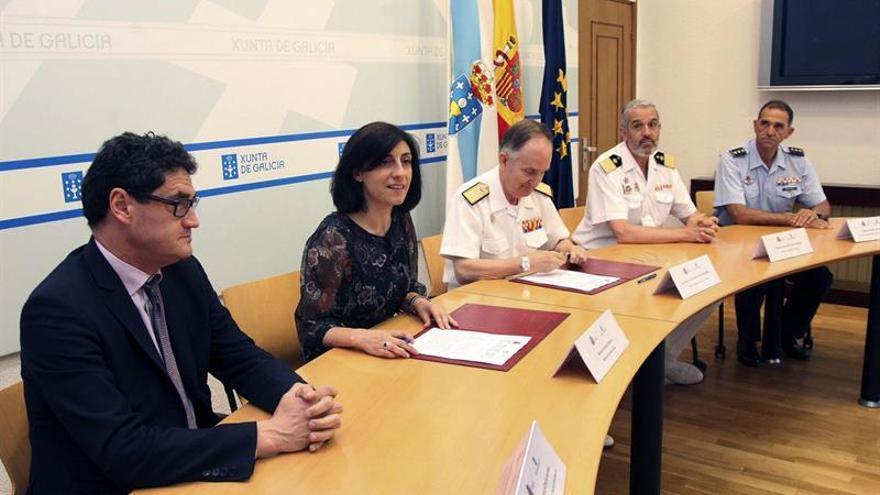 Drones y patrullas del Ejército vigilarán los montes gallegos