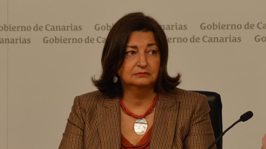 La exconsejera de Educación, María José Guerra Palmero.